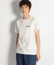tシャツ Tシャツ 【GYMPHLEX(ジムフレックス)】ロゴ刺繍Tシャツ ZOZOTOWN PayPayモール店