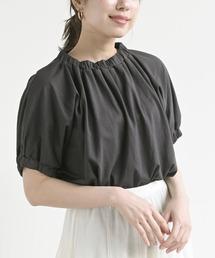 tシャツ Tシャツ 袖&ネックゴム使いカットプルオーバー|ZOZOTOWN PayPayモール店