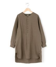 チュニック 【HAVERSACK】〈別注〉長袖リネンチュニックシャツ WOMEN|ZOZOTOWN PayPayモール店