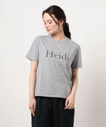 tシャツ Tシャツ martinique/HeidiロゴTシャツ|ZOZOTOWN PayPayモール店