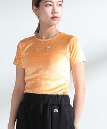 tシャツ Tシャツ Ray BEAMS / ストレッチ ベロア Tシャツ|ZOZOTOWN PayPayモール店