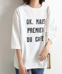 tシャツ Tシャツ OKグラフィックロゴBIGTシャツ【手洗い可能】◆|ZOZOTOWN PayPayモール店