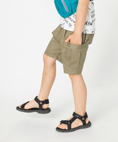 パンツ 舗 プチプラ ファッション通販 サイドポケット付きハーフパンツ