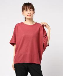 tシャツ Tシャツ コットンナイロンワイドシルエットプルオーバー|ZOZOTOWN PayPayモール店