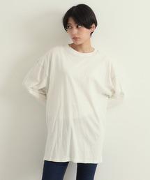 tシャツ Tシャツ 配色ステッチチュニックプルオーバー|ZOZOTOWN PayPayモール店
