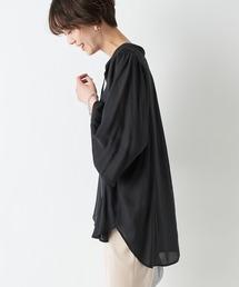 シャツ ブラウス 柔らかな風合いで着心地が軽い 袖ボリュームとろみブラウス|ZOZOTOWN PayPayモール店