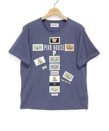 tシャツ Tシャツ ネームワッペンいっぱいカットソー|ZOZOTOWN PayPayモール店