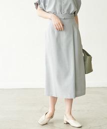 スカート 【セットアップ対応】リネンライクラップスカート|ZOZOTOWN PayPayモール店
