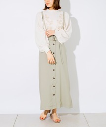 スカート フロントボタンサス付きナロースカート|ZOZOTOWN PayPayモール店
