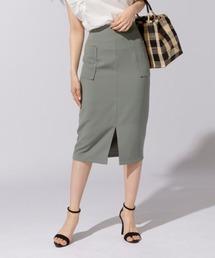 スカート ダブルポケットタイトスカート|ZOZOTOWN PayPayモール店
