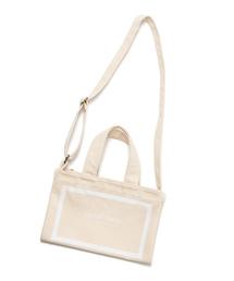 ショルダーバッグ バッグ LAYMEE 2way cotton bag / 2WAYコットン ショルダーバッグ トートバッグ|ZOZOTOWN PayPayモール店