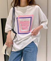 tシャツ Tシャツ 外国風プリント カジュアルTシャツ 半袖|ZOZOTOWN PayPayモール店