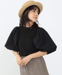 tシャツ Tシャツ CAROLINA GLASER / 異素材 ボリューム袖 カットソー|ZOZOTOWN PayPayモール店