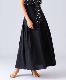 スカート AK+1 / ランダムタック ロングスカート|ZOZOTOWN PayPayモール店