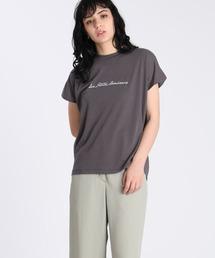 tシャツ Tシャツ 《Maison de Beige》フレンチスリーブロゴTシャツ《マシュふわ(R)》|ZOZOTOWN PayPayモール店