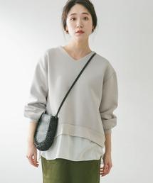 tシャツ Tシャツ F by ROSSO レイヤード風ダンボールプルオーバー|ZOZOTOWN PayPayモール店