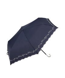 折りたたみ傘 【晴雨兼用傘】フラワー刺繍 ミニ 折りたたみ 日傘|ZOZOTOWN PayPayモール店