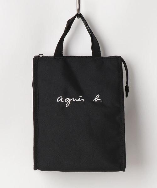 トートバッグ バッグ GL11 新作 人気 E 保冷ランチバッグ BAG OUTLET SALE ロゴ刺繍 LUNCH