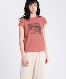 tシャツ Tシャツ 《Maison de Beige》プリントTシャツ《マシュふわ(R)》|ZOZOTOWN PayPayモール店