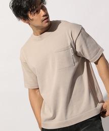 tシャツ Tシャツ サマーニット半袖プルオーバー ZOZOTOWN PayPayモール店