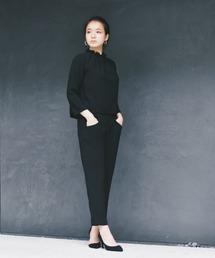 パンツ スーツ タックパンツ[ブラックフォーマル対応]|ZOZOTOWN PayPayモール店