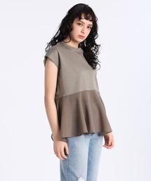 tシャツ Tシャツ 《Luftrobe》シアードッキング裾フリルカットソー ZOZOTOWN PayPayモール店