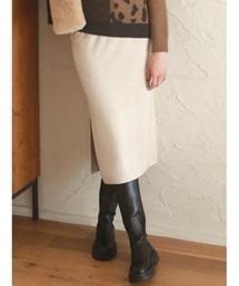 スカート Natural knit skirt|ZOZOTOWN PayPayモール店
