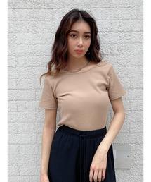 tシャツ Tシャツ バックオープン半袖TOP(セットアップ)|ZOZOTOWN PayPayモール店