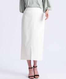 スカート 《Maglie par ef-de》センタースリットタイトスカート ZOZOTOWN PayPayモール店
