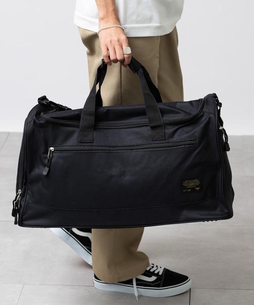 バッグ ボストンバッグ 35%OFF FORECAST 2WAY シューズポケット付きボストンバッグ 日本最大級の品揃え ショルダー