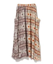 スカート PENDLETON × CAROLINA GLASER / 別注 プリントスカート|ZOZOTOWN PayPayモール店