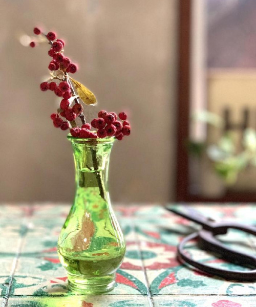 メーカー在庫限り品 花瓶 ミニガラスベース 送料無料お手入れ要らず NO.2