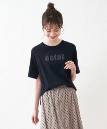 tシャツ Tシャツ 【BEATRICE】刺繍ロゴカットソー ZOZOTOWN PayPayモール店
