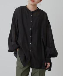 シャツ ブラウス バルーンスリーブシアーシャツ|ZOZOTOWN PayPayモール店