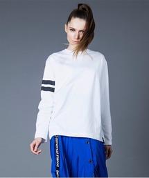 tシャツ Tシャツ アームボーダーロゴロングTシャツ|ZOZOTOWN PayPayモール店