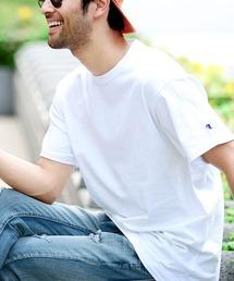 tシャツ Tシャツ Champion チャンピオン 無地 ベーシック オーバーサイズ 半袖 クルーネック Tシャツ|ZOZOTOWN PayPayモール店