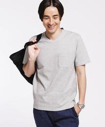 tシャツ Tシャツ 《汗染み防止》Anti Soaked ヘビーVネックTシャツ|ZOZOTOWN PayPayモール店