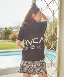 tシャツ Tシャツ RVCA/ルーカ  ルーズシルエット   バックプリントロゴTシャツ  BB043-240|ZOZOTOWN PayPayモール店