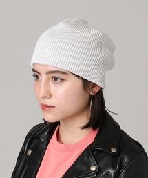 帽子 キャップ リネンシルクニットビーニー WKN-211003|ZOZOTOWN PayPayモール店