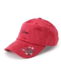 帽子 キャップ フェイクスウェード刺しゅうキャップ|ZOZOTOWN PayPayモール店