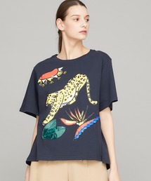 tシャツ Tシャツ 【MUVEIL(ミュベール)】アートアニマルTシャツ MA91UTS003|ZOZOTOWN PayPayモール店