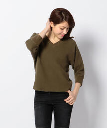 tシャツ Tシャツ Uncut Bound(アンカットバウンド)  ワッフルVネックプルオーバー|ZOZOTOWN PayPayモール店