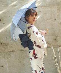 傘 【晴雨兼用傘】バンブー 持ち手フラワーライン刺繍 日傘|ZOZOTOWN PayPayモール店