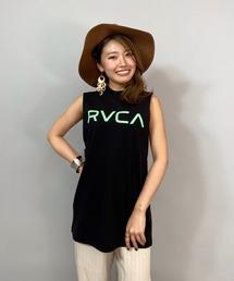 タンクトップ RVCA/ルーカ   ビッグシルエット  ロゴタンクトップ   BB043-383|ZOZOTOWN PayPayモール店
