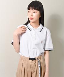 ポロシャツ GUESS (ゲス) ストレッチピケ ワンポイント 半袖 ポロシャツ ZOZOTOWN PayPayモール店