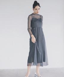 ドレス ラメチュールメロウワンピース|ZOZOTOWN PayPayモール店