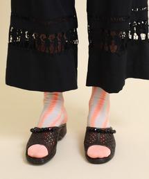 靴下 【mintdesigns(ミントデザインズ)】ジグザグソックス|ZOZOTOWN PayPayモール店