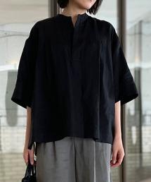 シャツ ブラウス ◇【LE GLAZIK】リネンスキッパーシャツ KLM WOMEN ZOZOTOWN PayPayモール店
