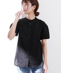 シャツ ブラウス 《追加》コットンローンアイレットシャツ【手洗い可能】◆|ZOZOTOWN PayPayモール店