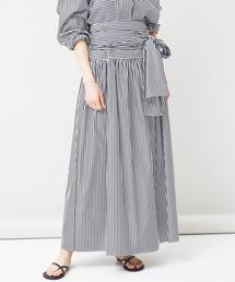 スカート Curensology(カレンソロジー)/ストライプギャザースカート ZOZOTOWN PayPayモール店